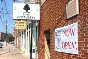 H&H Restaurant is open for business again in downtown Macon. (Credit: Steve Burns.)